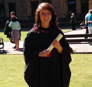Una Craven Graduation Photo