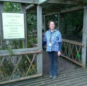 Sue Macklin had a 2 week work placement in 2018 at Bristol Botanic Garden with the support of a £570 award